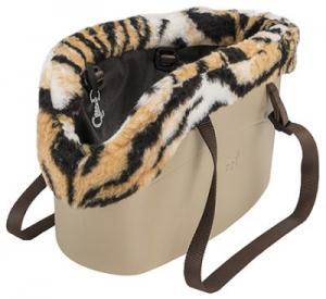 "FP väska ""With-Me"", beige/leopard"