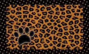 Underlägg leopard brun 51x30 cm, Drymate