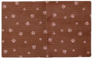 Underlägg randig brun 51x30 cm, Drymate