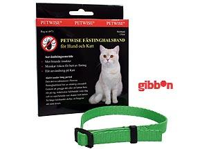 Petwise fästinghalsband för katt <35 cm