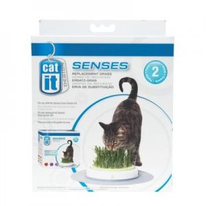 Catit Senses kattgräs refill 2-p