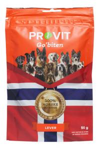 Provit/Go'biten frystorkad lever 50 g