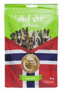 Provit/Go'biten frystorkad kalkon 50 g