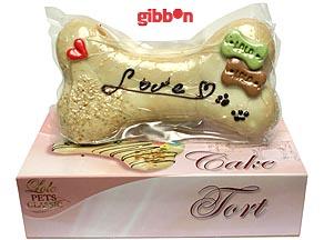 "Lolo tårt-ben ""Love"" 19 cm/250 g"