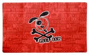 Underlägg Good Dog röd 51x30 cm, Drymate
