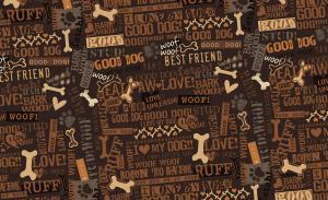 Underlägg Best Friend brun 71x40 cm, Drymate