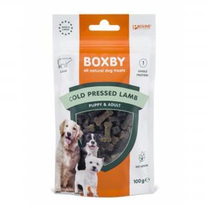 Boxby Cold Pressed Grainfree Lammgodis 100 g