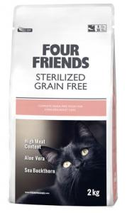 Four Friends Cat GrainFree Sterilized