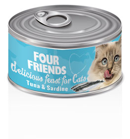 Four Friends Cat Tuna & Sardine 85 g