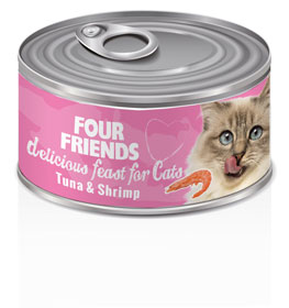 Four Friends Cat Tuna & Shrimp 85 g