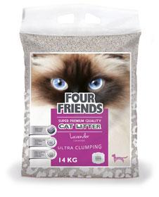 Four Friends Cat Litter Lavender