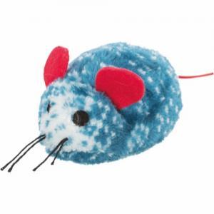 Xmas leksaker stjärna/mus/pepparkaksgubbe, plysch 8-10 cm, mix