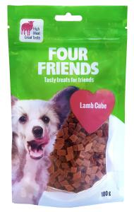 Four Friends Dog Lamb Cube