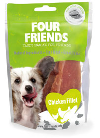 Four Friends Dog Chicken Fillet