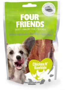 Four Friends Dog Chicken N' Rawhide