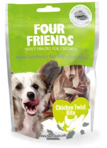 Four Friends Dog Chicken Twist Bite