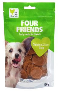 Four Friends Dog Chicken & Liver Chip