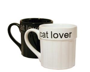 """Class Act """"Cat Lover"""" Mug"""