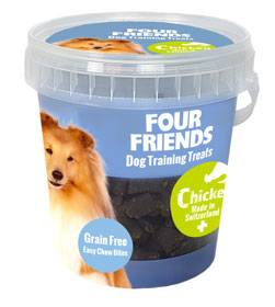 Four Friends Dog TrainingTreats Chicken 400 g