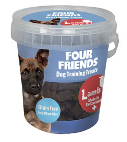 Four Friends Dog TrainingTreats Lamb 400 g