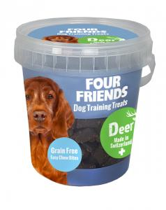 Four Friends Dog TrainingTreats Deer 400g