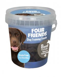 Four Friends Dog TrainingTreats Beef & Liver 400g