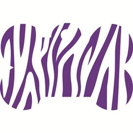 ID-bricka litet ben zebra