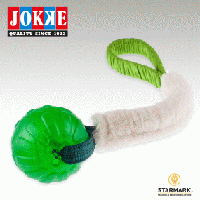BOLLIPOP LAMB green elastic/boll 10 cm