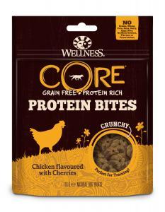 CORE Dog Bites Crunchy Chicken & Cherries 170g