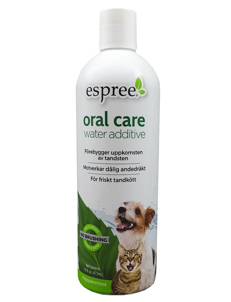 Espree Oral Care Water Additive Peppermint 473 ml