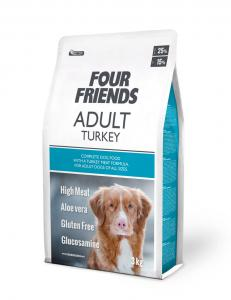 Four Friends Dog Adult Turkey