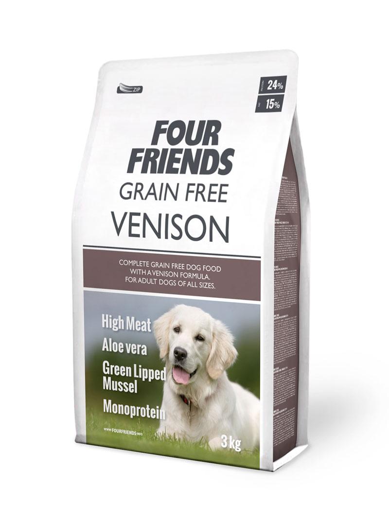 Four Friends Dog GrainFree Vension