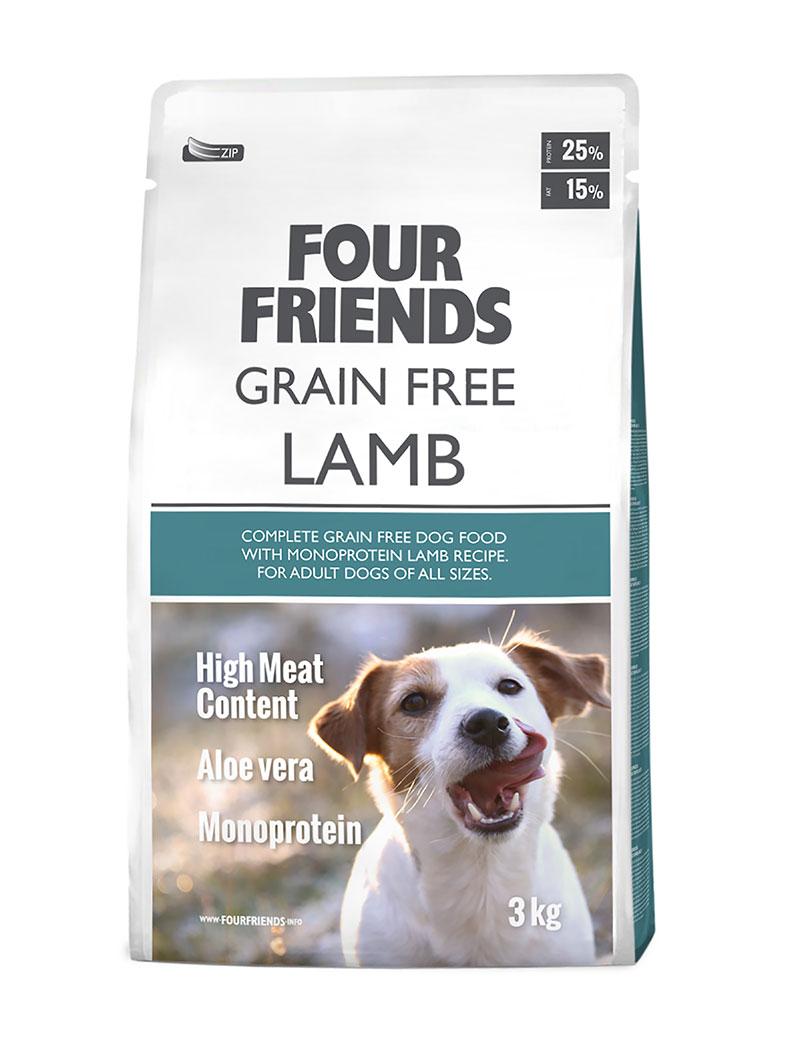 Four Friends Dog GrainFree Lamb