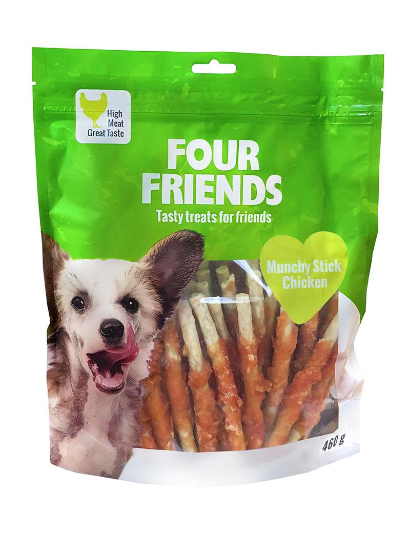 Four Friends Dog Munchy Stick Chicken 40 st / 460 g