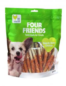 Four Friends Dog Munchy Stick Chicken 40 st / 460 g