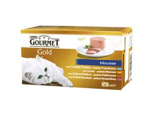 Gourmet Gold Mousse 4x85 g