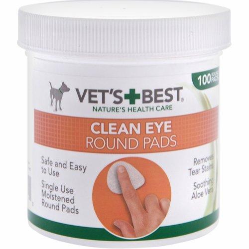 Vet's Best Clean bomullsrondeller ögonvård 100 st