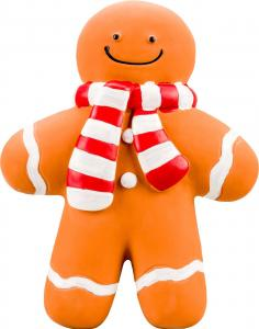 Squeaky Gingerbread Man 17 cm