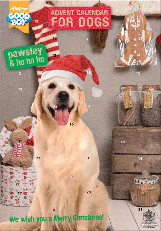 PAWSLEY Dog Adventskalender