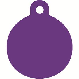 ID-bricka liten cirkel