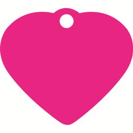 ID-bricka litet hjärta