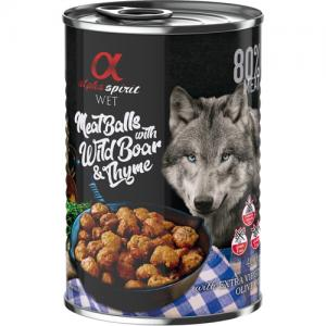 alpha spirit Meatballs with Wild Boar & Thyme 400 g