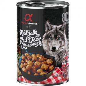 alpha spirit Meatballs with Red Deer & Rosemary 400 g