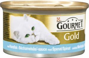 Gourmet Gold Délicatesse Havsfisk i Bechamelsås med spenat 85 g