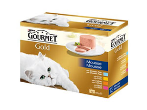 Gourmet Gold Mousse 12x85 g