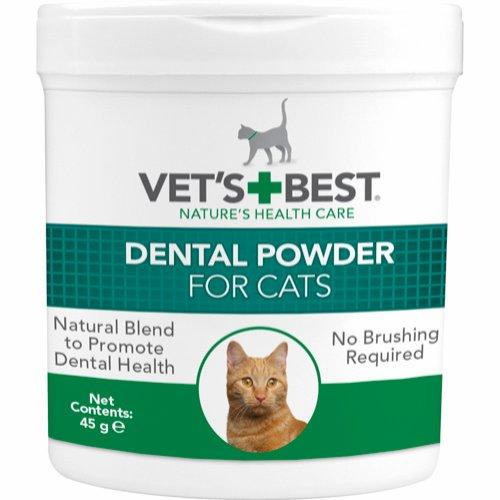 Vet's Best tandvårdspulver till katt 45 g