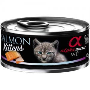 alpha spirit CAT Salmon Kittens 85 g