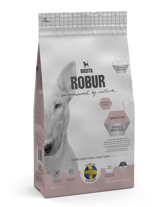 Robur Sensitive Single Protein Salmon