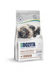 Bozita Feline Indoor & Sterilised GrainFree Reindeer