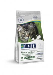 Bozita Feline Active & Sterilised GrainFree Lamb